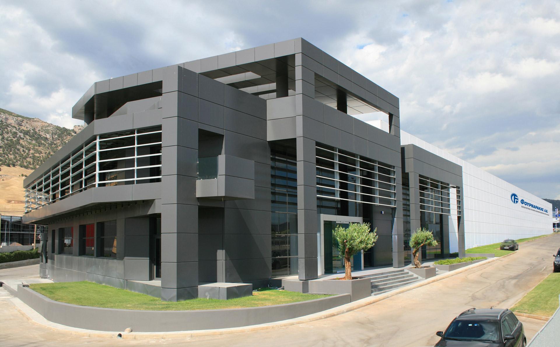 Office Storage Building : Design of an office storage building in aspropirgos